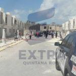 Desaparecen dos cuerpos humanos heridos con proyectil de arma de fuego en una obra en construcción Porto Alto