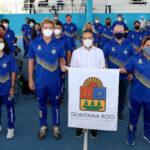 Abanderamiento de la delegación deportiva de Quintana Roo